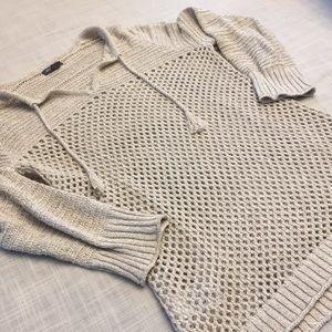 Eddie Bauer open knit sweater